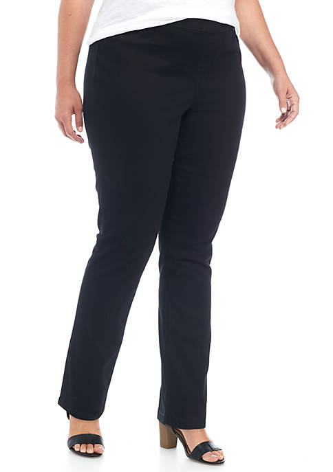 New Directions® Plus Size Pull On Pant