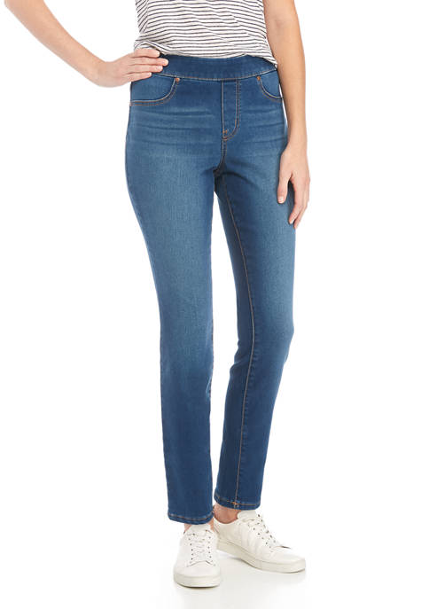 New Directions® Womens Pull On Short Length Skinny