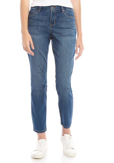New Directions® Womens Straight Jeans