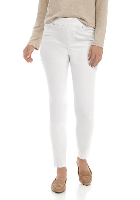 New Directions® Womens Pull On Slim Leg Pants