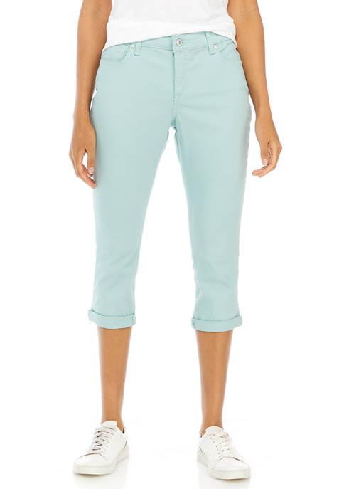 New Directions® Petite Roll Cuff Denim Jeans