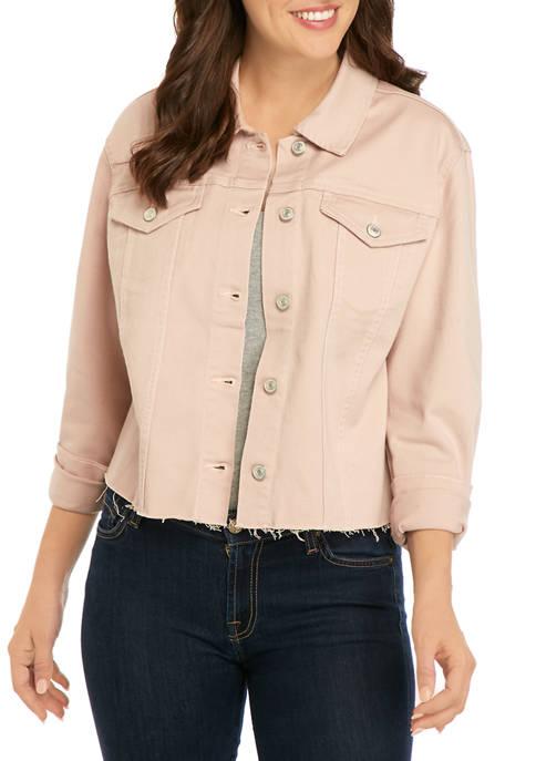 New Directions® Womens Trucker Jacket