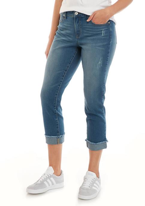 New Directions Women's Girlfriend Jeans