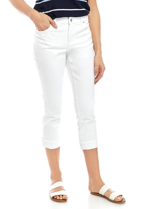 New Directions® Womens Girlfriend Jeans