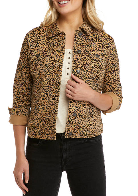 New Directions® Womens Jean Jacket