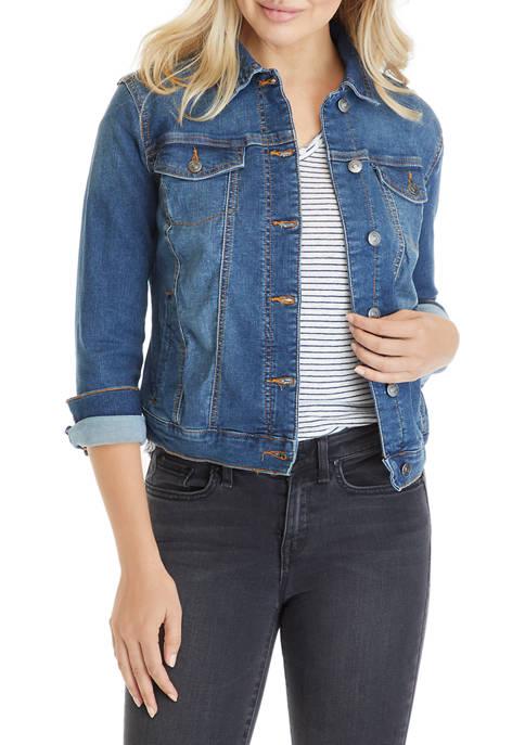 New Directions® Petite Denim Jacket