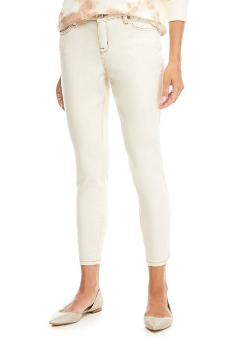 New Directions® Womens Ankle Length Skinny Jeans