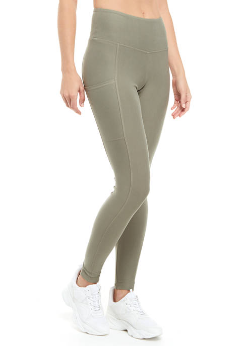 Juniors High Rise Leggings with Pockets
