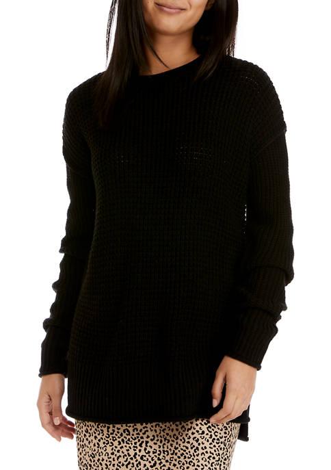 Juniors Drop Shoulder Sleeve Pullover