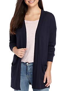 Drop Shoulder Pocket Cardigan