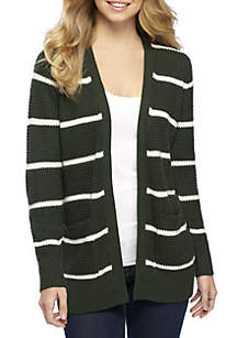Textured Pocket Cardigan