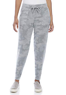 Drawstring Grey Hacci Sweatpants