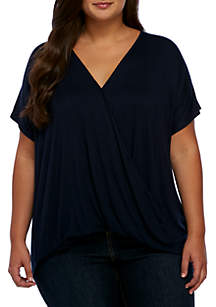 Plus Size Short Sleeve Surplus Tee