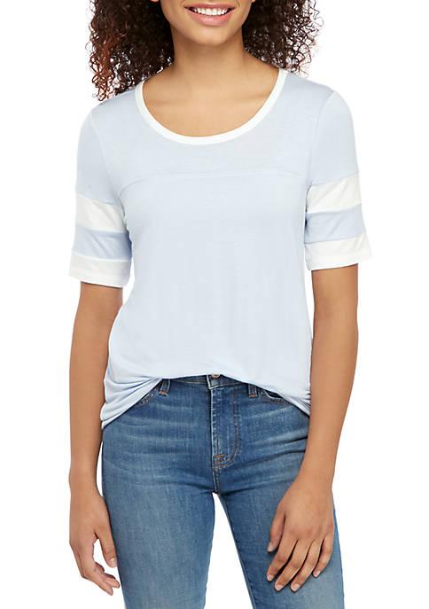 Short Sleeve Varsity Shirt