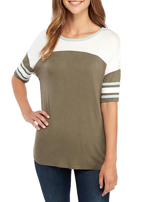 Short Sleeve Baseball T Shirt