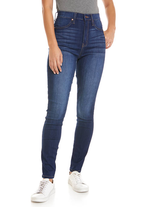 Celebrity Pink Juniors High Rise Curvy Skinny Jeans