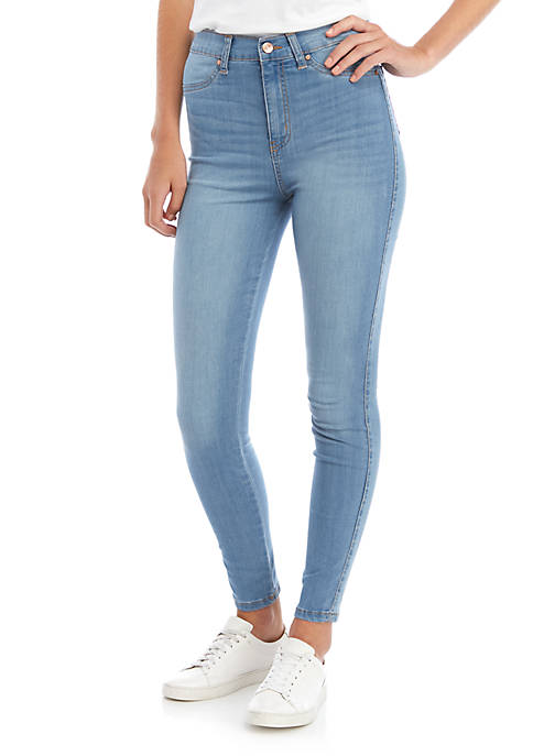 Juniors High Rise Curvy Skinny Jeans