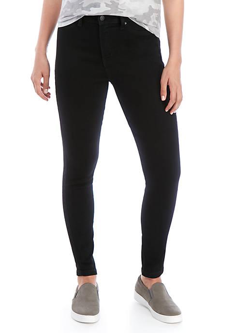 Celebrity Pink Black Skinny Ankle Jeans