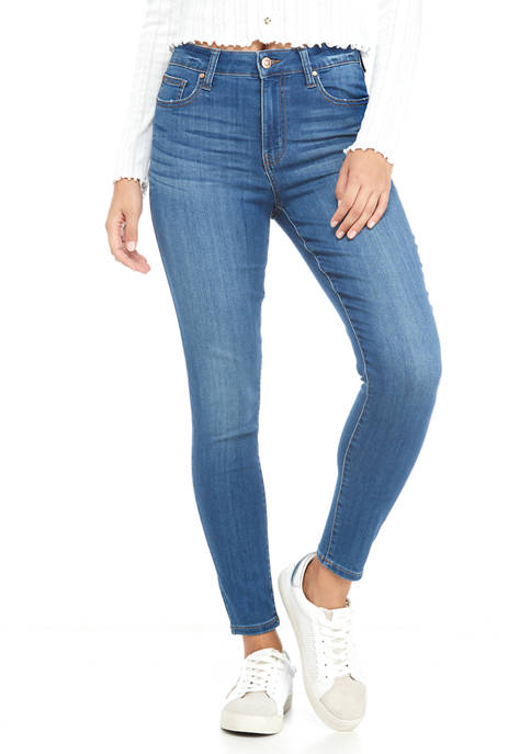 Celebrity Pink Juniors Curvy High Rise Skinny Jeans