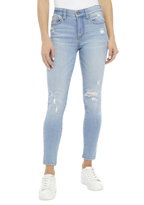 Celebrity Pink Juniors Mid Rise Curvy Skinny Jeans