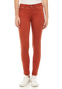 Celebrity Pink Mid Rise Color Skinny Jeans