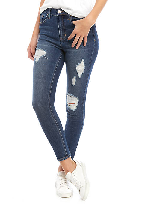 Juniors Bodysculpt High Rise Skinny Jeans