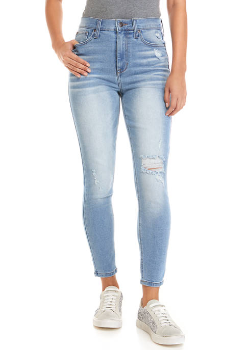 Celebrity Pink Juniors Bodysculpt High Rise Skinny Jeans
