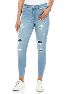 Celebrity Pink Body Sculpt High Rise Skinny Jeans