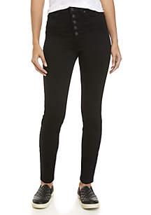 Tencel Exposed Skinny Jeans