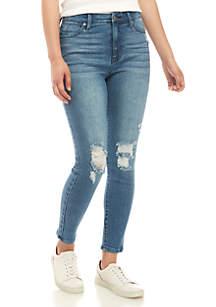 Celebrity Pink Body Sculpt High Rise Skinny Jeans
