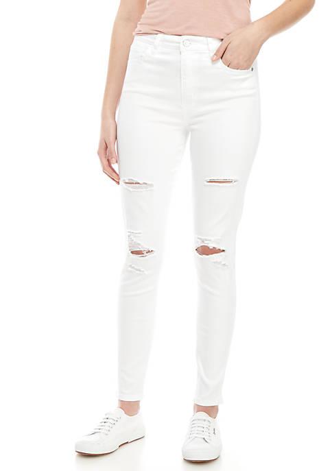 Celebrity Pink 5 Pocket Skinny Duster Pants
