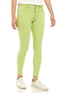 Celebrity Pink Mid Rise Neon Color Skinny Jeans