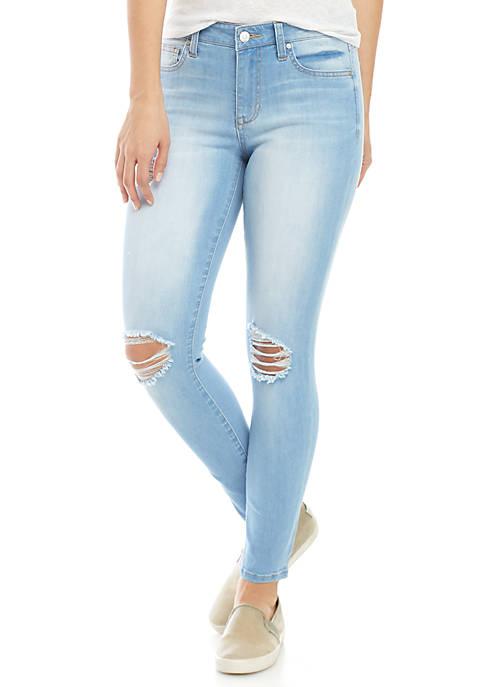Celebrity Pink 5-Pocket Skinny Ankle Duster Jeans