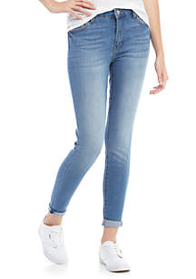 Skinny Double Cuff Jeans