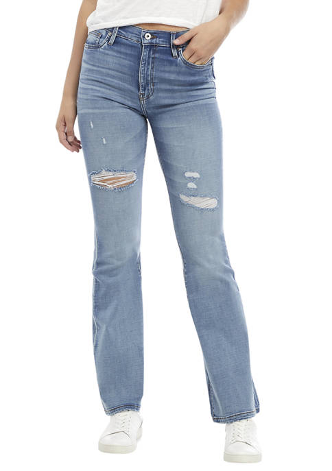 Celebrity Pink Juniors High Rise Flare Jeans