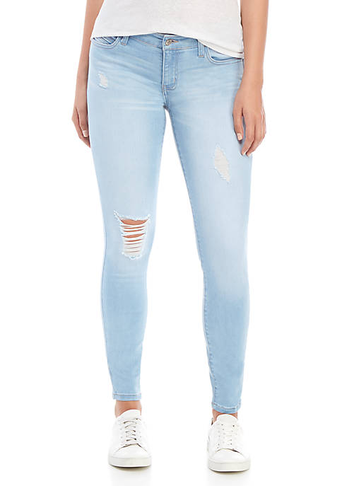 Celebrity Pink Low Rise Skinny Ankle Jeans