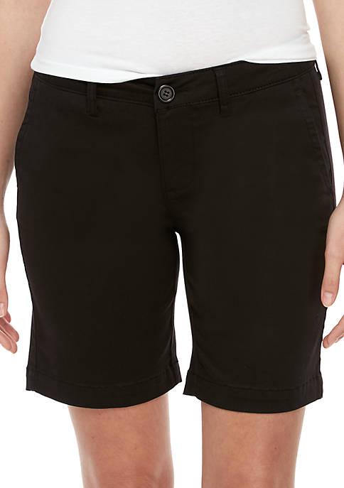 Celebrity Pink Bermuda Smart Twill Shorts