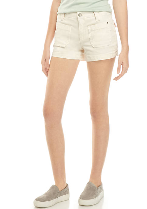 Celebrity Pink Juniors Washed Twill Shorts