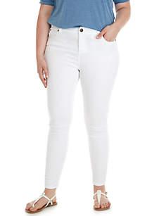 Roll Cuff Skinny Jeans