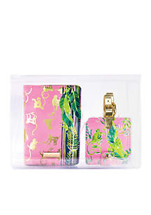 Lilly Pulitzer® Chimpoiserie Travel Set