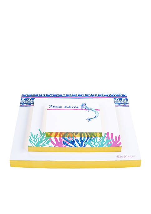 Lilly Pulitzer® Mermaids Cove Notepad Set