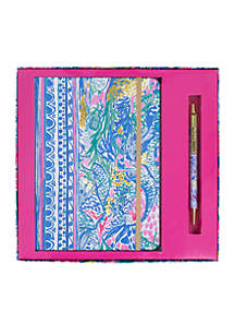 Mermaids Cove Boxed Journal and Pen Set