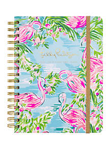 7e2b952077e47f ... Lilly Pulitzer® Large August December Floridita Mylar Tab Agenda