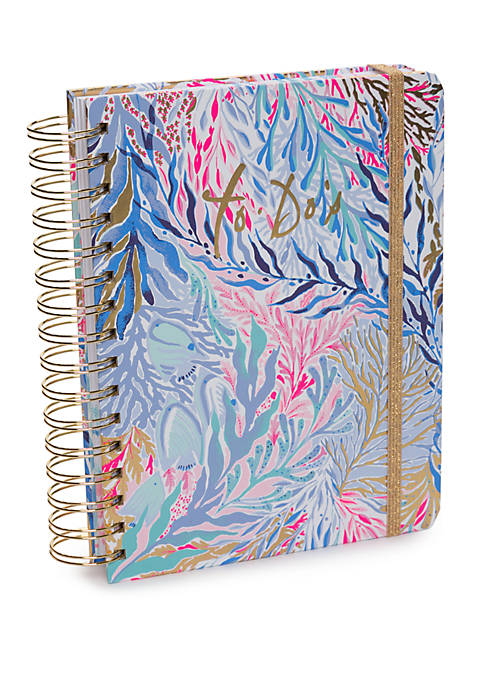 Kaleidoscope Coral To Do Planner
