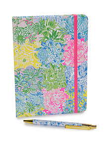 Lilly Pulitzer® Cheek to Cheek Boxed Journal with Pen