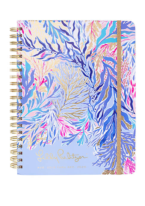 Lilly Pulitzer® Jumbo August December Kaleidoscope Coral Agenda