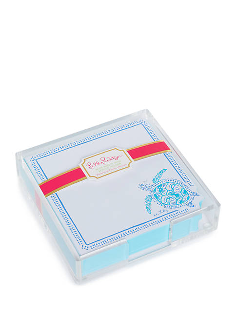 Lilly Pulitzer® Turtley Awesome List Pad