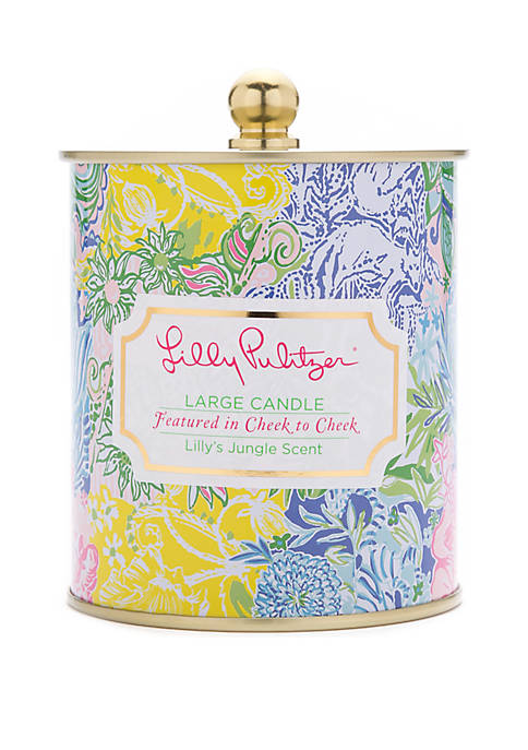 Lilly Pulitzer® Large Candle Cheek to Cheek