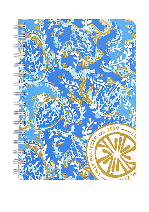 Lilly Pulitzer® Turtley Awesome Small Notebook