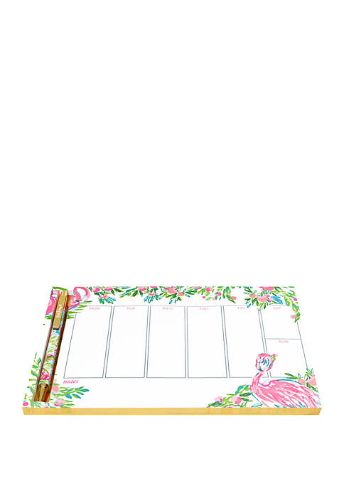 Lilly Pulitzer® Floridita Weekly Desk Pad